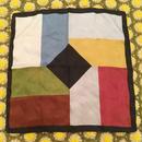 イタリア製 くすみカラー デザイン スカーフ /古着 ビンテージ
