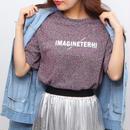 キラキラ ラメ 半袖 Tシャツ