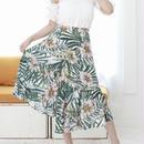 花柄 アシンメトリー サマー スカート