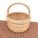 ヴィンテージハンドルバスケット(handle basket)