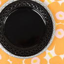 ビング・オー・グレンダール Bing&Grondahl コーディアル・パレット プレート(M)(ブラック)