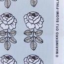マリメッコ marimekko <Vihkiruusu>ファブリック(ブルーグレー)50cm 日本限定