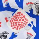マリメッコ marimekko <Puketti>マグカップ(ホワイト×レッド)