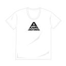 オーガニックコットンUネックシャツ(白)
