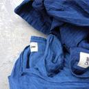 17-0019 French Linen INDIGO Dress / DEEP BLUE