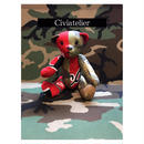 Civiatelier Remake CHICAGO BULLS CAMO Teddy Bear シヴィアトリエ-1