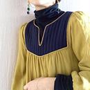 BOUTIQUE silK de chine dress TE-3402/MUSTARD