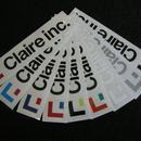 Claire inc. ステッカー