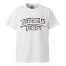 TSURIBU ARCH  T-SHIRT  (WHITE×WHITE)