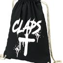 CLAPS CLOSS NAPSACK  (BLACK)