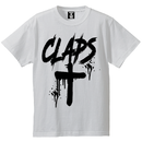 CLAPS CLOSS T-SHIRT  (WHITE)
