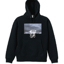 CLAPS FIGHT SEA HOODIE  (BLACK)