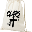 CLAPS CLOSS NAPSACK  (WHITE)