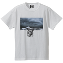 CLAPS Fight sea T-SHIRT (WHITE)