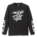 TRIPLE SIGN  L/S T-SHIRT ( BLACK)