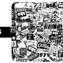 CLAPS S.K  WALL  PHOTO手帳型 iPhone Case. (壁)