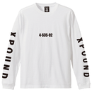 TSURIBU XPOUD  L/S T-SHIRT (WHITE)