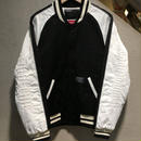 "SUPREME×NEIGHBORHOOD / Baseball Jacket size : 2 BLK/WHT ""2006A/W"""