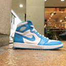 "NIKE / AIR JORDAN 1 RETRO ""POWDER BLUE"" US10 2015年製"
