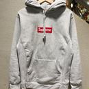"""SUPREME / Box Logo Pullover size : L GRY """"2014A/W"""""""
