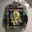 "【Ladies】Vintage Custom / BDU Jacket ""IRON MADEN"""