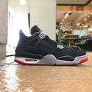 "NIKE / AIR JORDAN 4 RETRO ""BRED"" size : US9 2012年製"