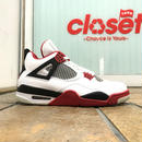 "NIKE / AIR JORDAN 4 RETRO ""FIRE RED"" size : US10 2012年製 308497-110"