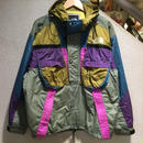 THE NORTH FACE / 90's VINTAGE, SKI NYLON PULLOVER HOODED JACKET size : L MLT