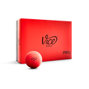 VICE PRO SOFT MATTE NEON RED 1ダース