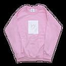 face art pullover/pink