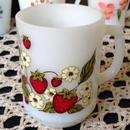 Strawberry & Flower Mug(9oz)