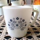 Tiny Flower  Mug(Blue)