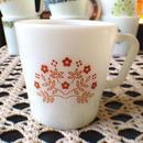 Tiny Flower  Mug(Brown)