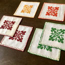 Hungary - Cross stitch Pot mat