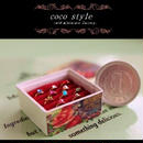 一口チョコサイズの宝石箱・ローズ