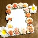 shell photo frame