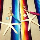 starfish bag charm