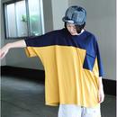 Hiroyuki Watanabe/カラーパレットポケットtee( yellow)