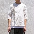 vast222/no color china shirt(white)