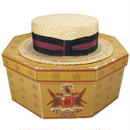 1930's ノックス ヴィンテージ カンカン帽&ボックス 7 1/8