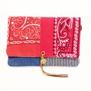REMADE Clutch Bag バンダナ《クラッチバッグ Sサイズ 》