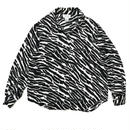 For Ladies / Used Silk  Shirt / Zebra