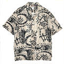 Deadstock Made in USA Hawaiian Shirt / Ivory