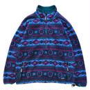 Made in USA / 90s- L.L.Bean / Polartec Fleece Jacket / Multi / Used