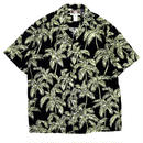 Deadstock Made in USA Hawaiian Shirt / Black