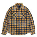 Dead Stock / Stussy / L/S Check Shirt / Yellow