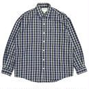 90s Eddie Bauer / L/S Check Shirt Jacket / Purple / Used