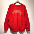 "85~90s Champion /  Reverse Weave Sweater ""BROWN"" / RED L"