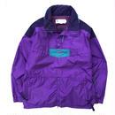 OLD Columbia / Pullover Nylon Jacket / Purple × Navy
