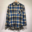 DEAD STOCK / L/S Print Flannel Shirts